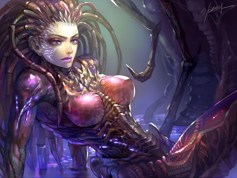 Kerrigan | Nerd art, Starcraft, Kerrigan starcraft