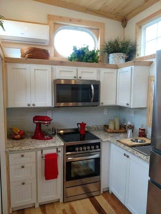 Awesome tiny house design ideas kitchendesign also living room rh pinterest