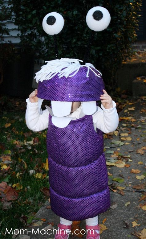 monsters inc boo halloween costume