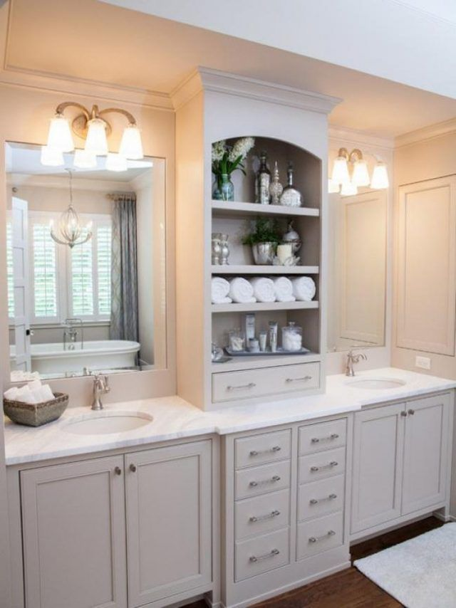 Bathroom Cabinet Ideas In 2020 [50+ Ideas For Bathroom Storage]