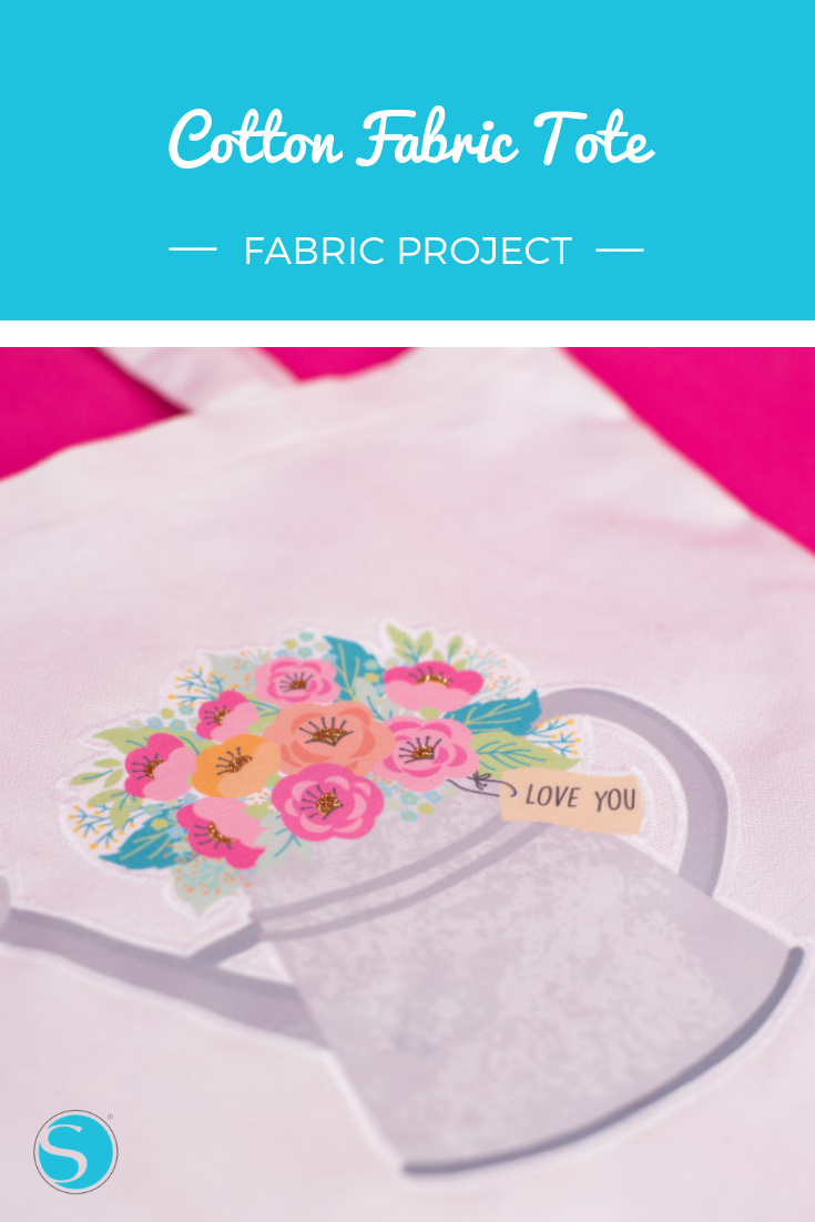 Did You Know That Silhouette Has A Printable Cotton Fabric