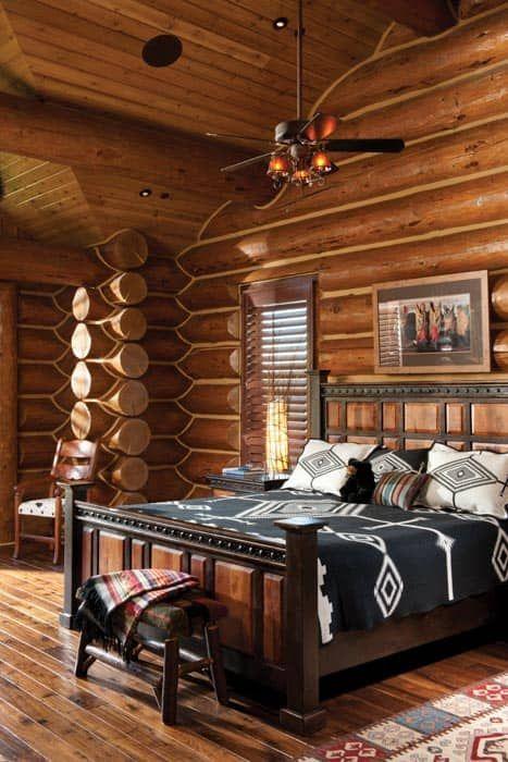 Jackson Hole, WY Handcrafted Log Home