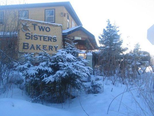 Two Sisters in Homer, Alaska