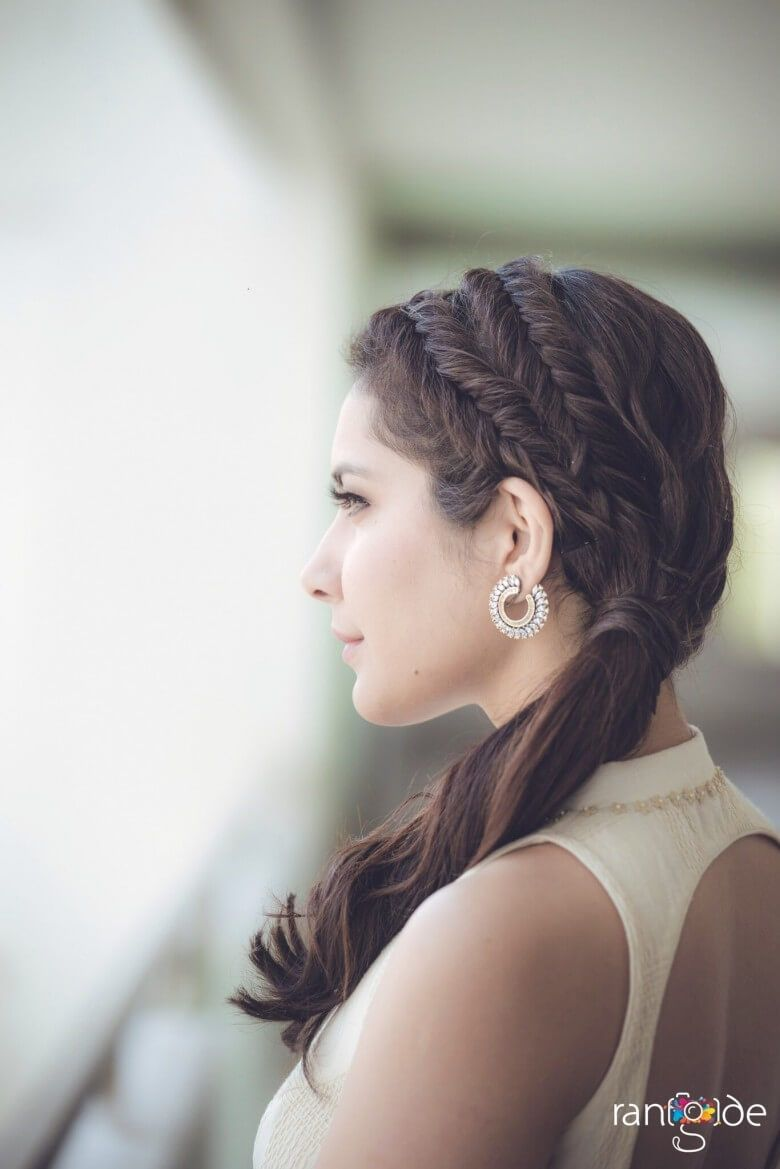Rashi Khanna Latest Photos Front Hair Styles Easy Hairstyles Long Hair Styles