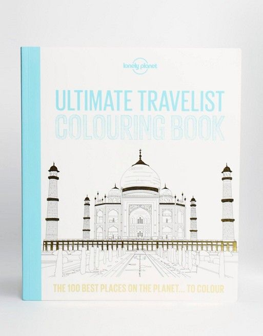 Gift idea to the traveler, a travel coloring book, something to do during long journeys