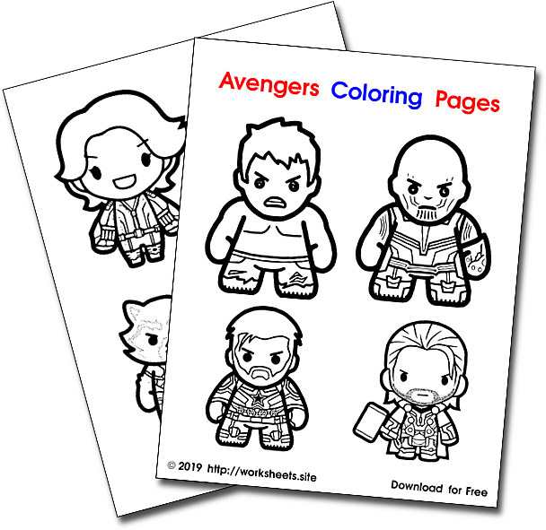 Avengers Coloring Pages Endgame Coloring Avengers Pages Hulk Thanos Thor Capitan Ameri Avengers Coloring Pages Avengers Coloring Unicorn Coloring Pages