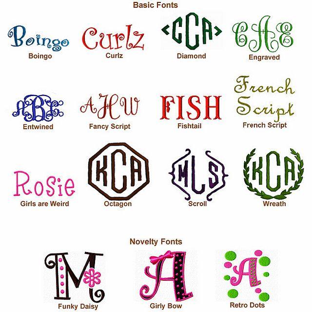 Monogram Fonts Free Monogram Fonts Cricut Monogram Font Monogram Fonts