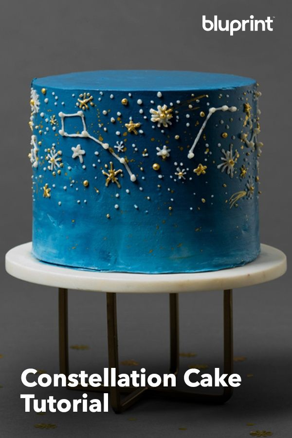 This Constellation Cake Will Be the Star of Any Party
