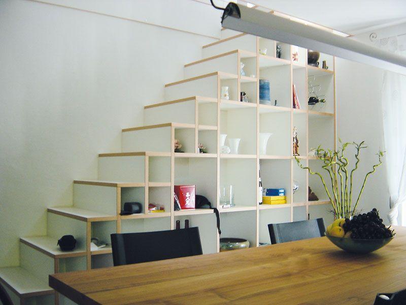 treppe mit einbauschrank hausideen pinterest treppe schrank und dachboden. Black Bedroom Furniture Sets. Home Design Ideas