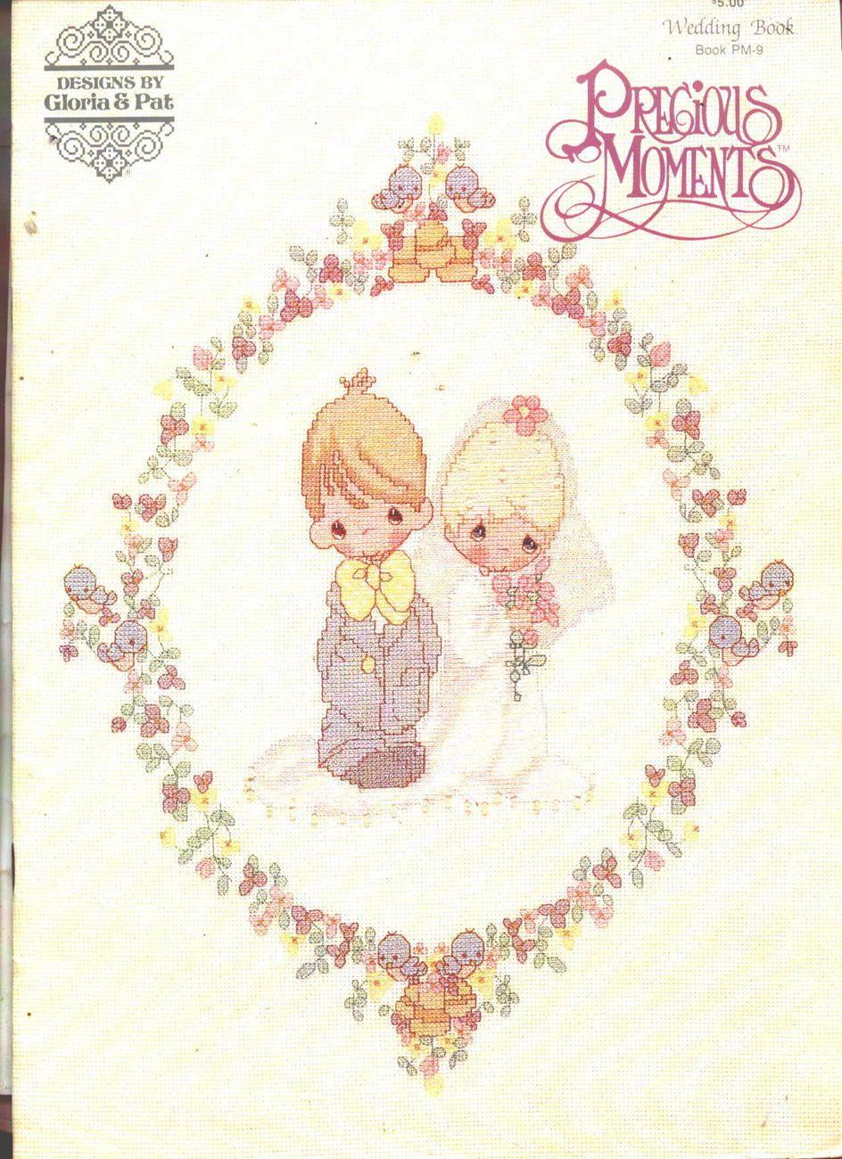 Precious Moments Wedding Book Cross Stitch Patterns Bride Groom
