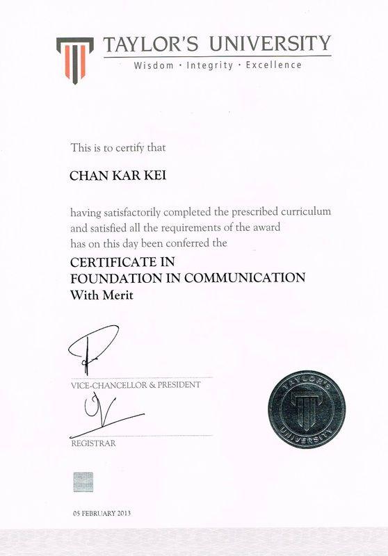 Academic Qualifications 0307612 Qualifications Academics