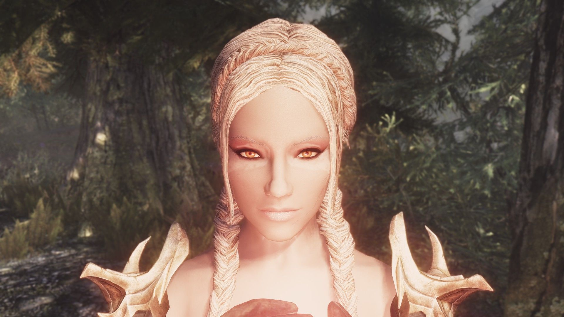 Lovely Hairstyles With Images Skyrim Nexus Mods