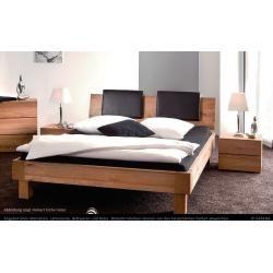 Doppelbett / Gästebett Kiefer massiv Vollholz weiß 77, inkl. Lattenrost - 180 x 200 cm (B x L) Stein #wood