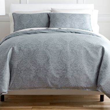 royal velvet damask duvet cover set found at jcpenney - Royal Velvet Sheets