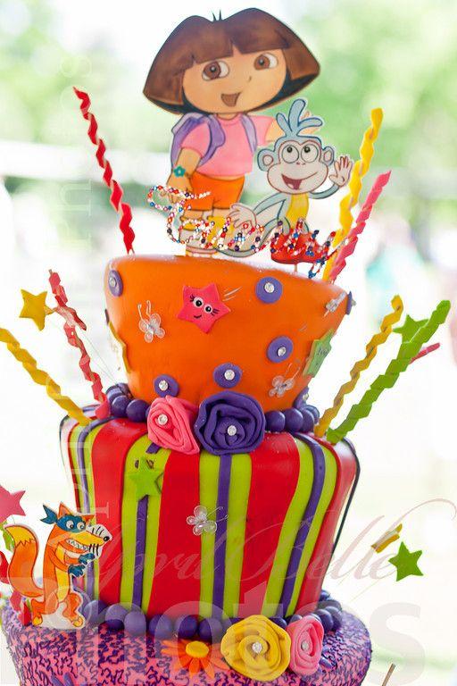 Dora The Explorer Cake Dora The Explorer Party Inspiration