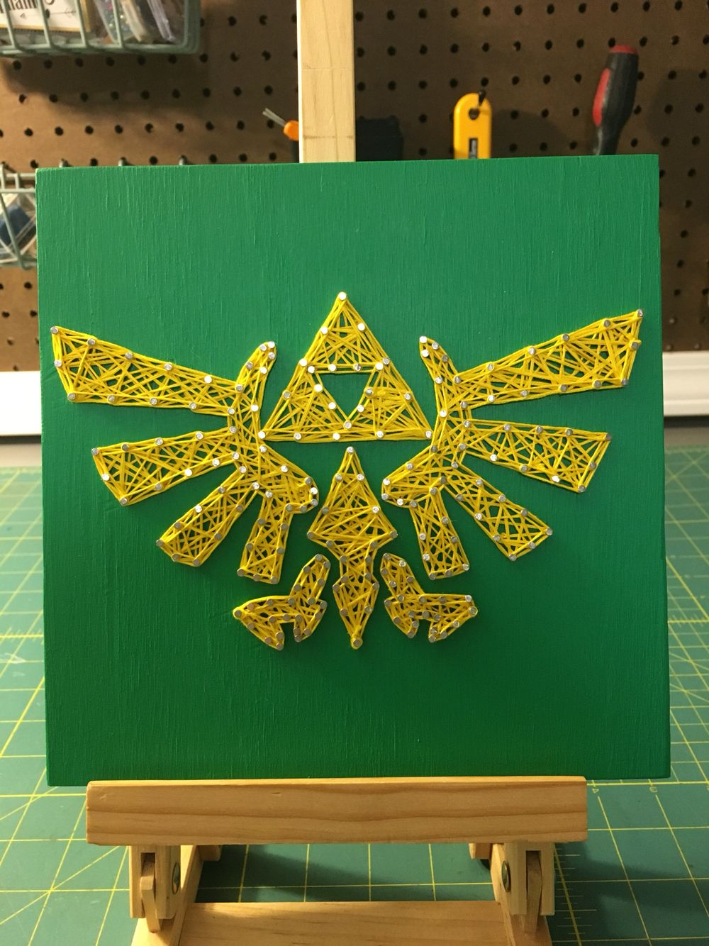 Zelda String Art | Strings by Stephanie | Pinterest | String art ...