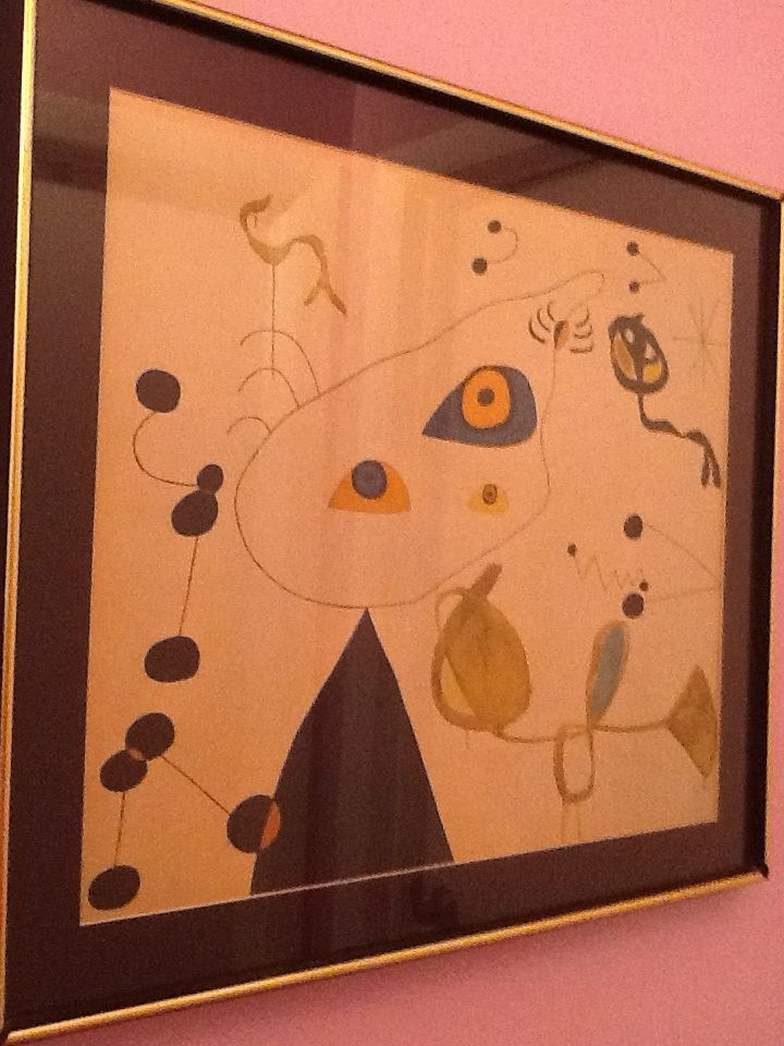 Old miro print from Bonita thrift