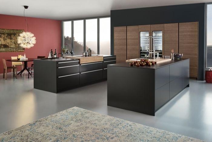 ▷ 1001 + exemples sublimes de la cuisine noire et bois ...