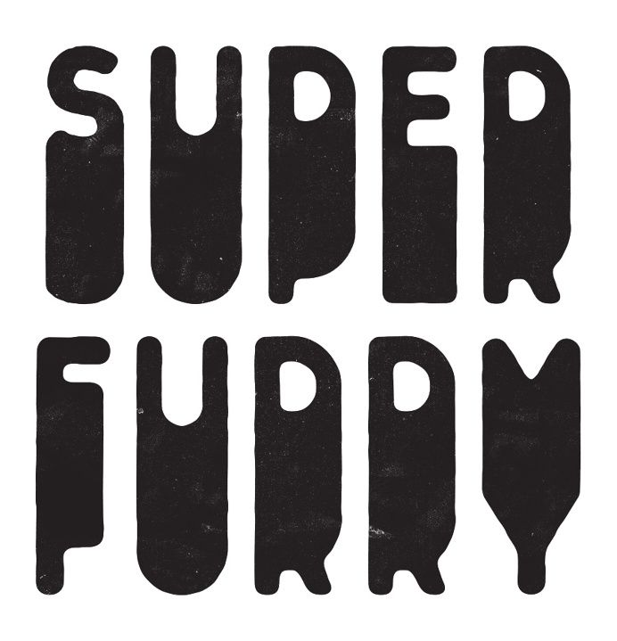 Simon Walker / Super Furry in Logotype / Mark