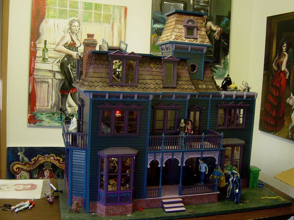 Dollhouse Electrical Wiring Dollhouses And Miniatures Doll House Https Flickr P 6a1vza Where Did It Come From Why I Built The Everything