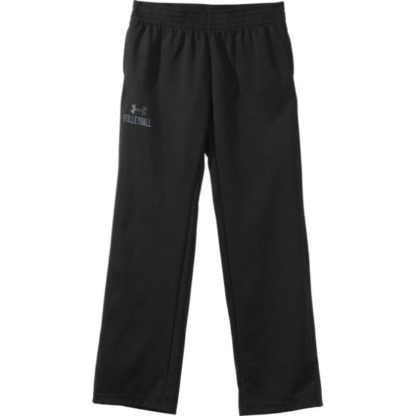 Under Amour Men S Fleece Storm Pants With The Word Volleyball Printed Under The Logo Mens Fleece Volleyball Shoes Pants