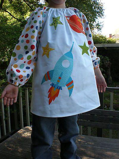 Kids Art Smock Pattern! | Pinterest | Kinderbekleidung, Schöne Dinge ...