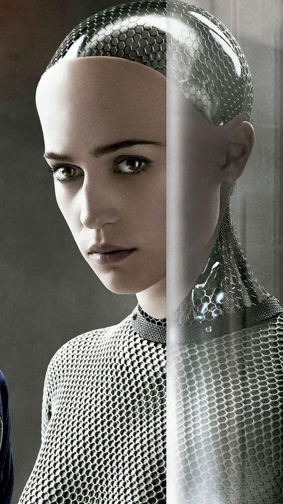 Pin By Tim S On Robots Female Robot Ex Machina Movie Alicia Vikander