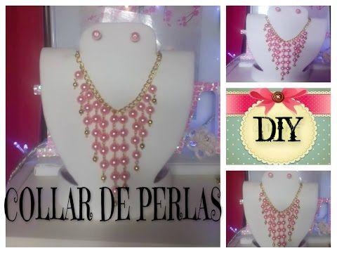 f6f7b4627c44 Manualidad  Collar con Perlas en Ensamble - Hogar Tv por Juan Gonzalo Angel  - YouTube