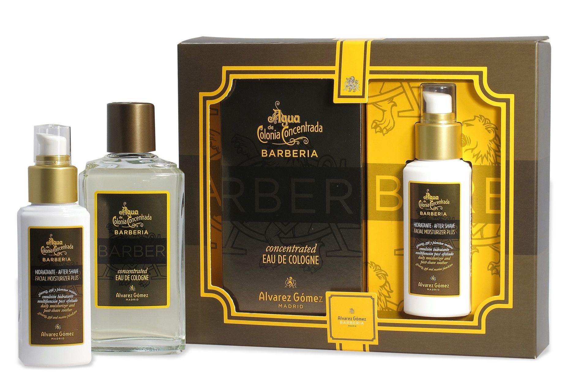 Barberia Eau De Toilette Gift Set By Alvarez Gomez For Men Con