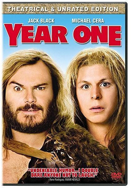 Year One Unrated 2009 Unrated CC | Year one movie, Jack