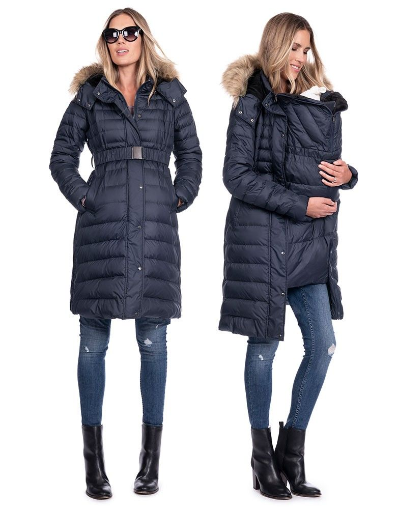 4aee572a14d 3 in 1 Down Maternity Coat