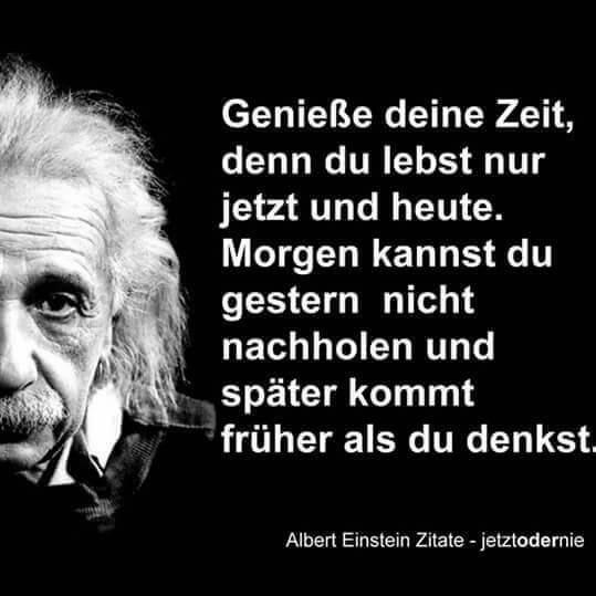Geniesse Die Zeit Weisheiten Spruche Einstein Zitate Lebensweisheiten Spruche
