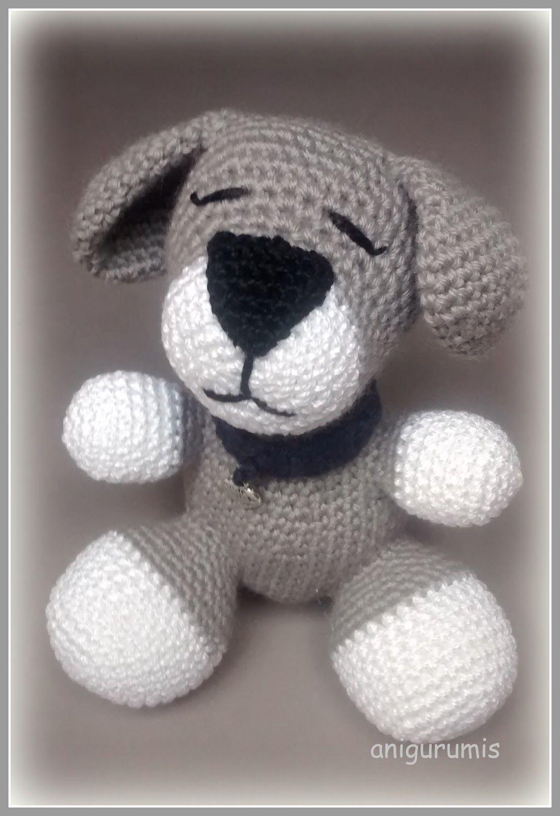 Dog, Perro Amigurumi - Patrón Gratis en Español - Click \
