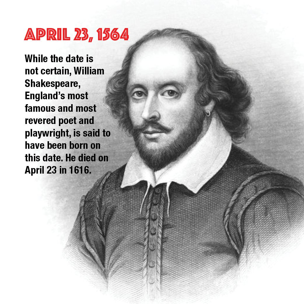 April 23 While The Date Is Not Certain William
