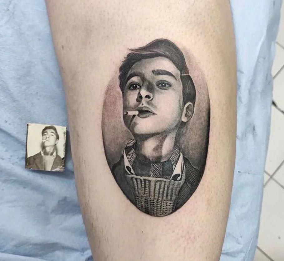 Tattoo Portrait Prix Tatouage Tatouage De Portrait Tatouage