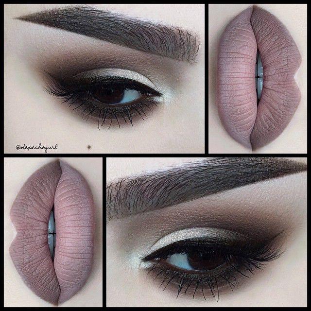 mac stone lipliner with velvet teddy lipstick make up pinterest sombras de ojos sombras. Black Bedroom Furniture Sets. Home Design Ideas