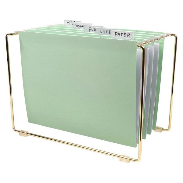 Mint Tabletop File: Http://www.stylemepretty.com/living/2015/11/10/the Best  Office Supplies To Dress Up Your Desk/