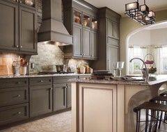 pickled cabinets kitchen | kitchen cabinets. pickled oak. ugh