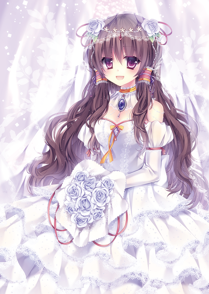 Anime Lace Wedding Dresses
