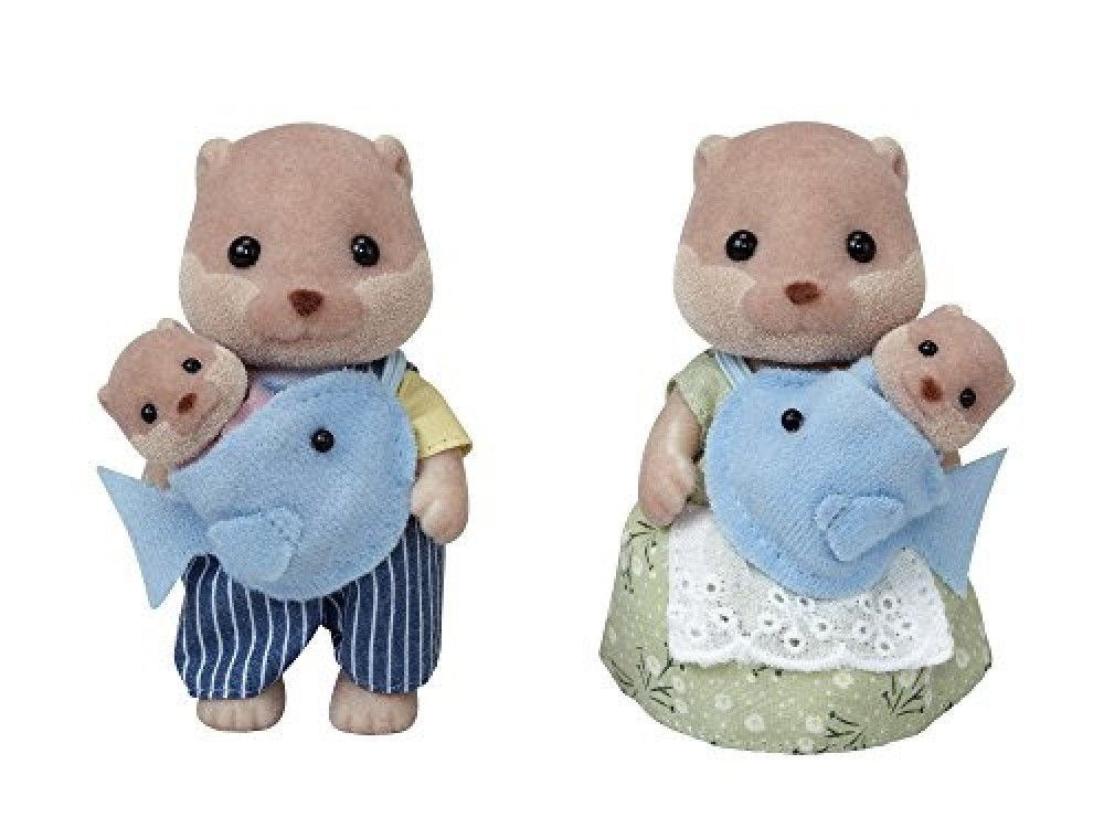 Rare Sylvanian Families Calico Critters Not For Sale Chocolate Rabbit Baby Epoch