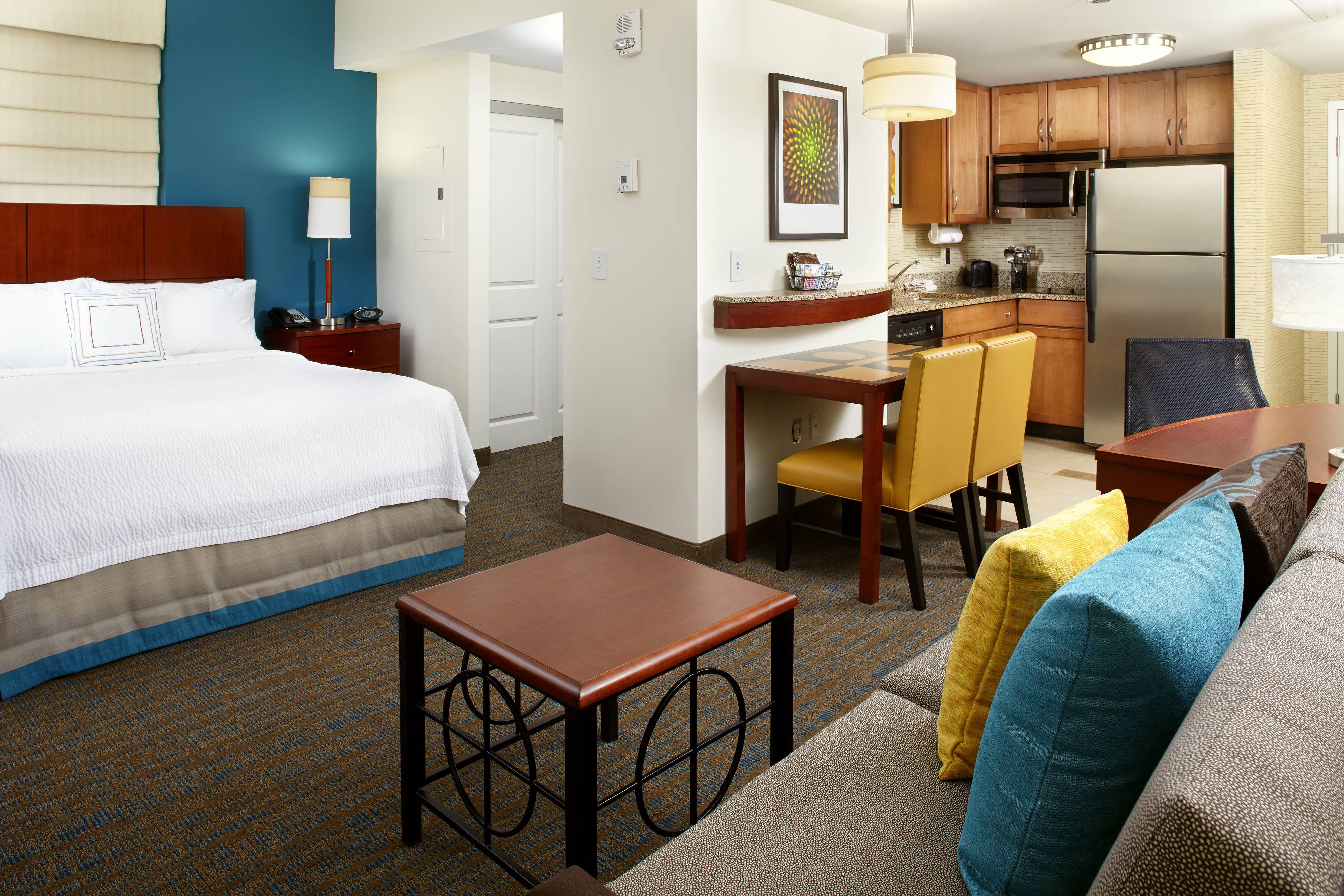 Residence Inn Columbus Downtown Studio Suite hotel,