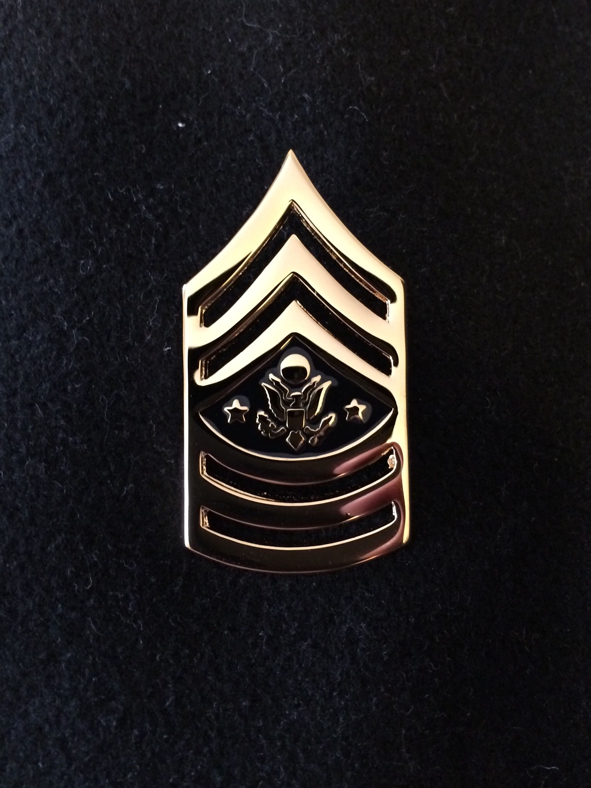 US Army rank insignia, Sergeant Major of the Army (E-10 ...
