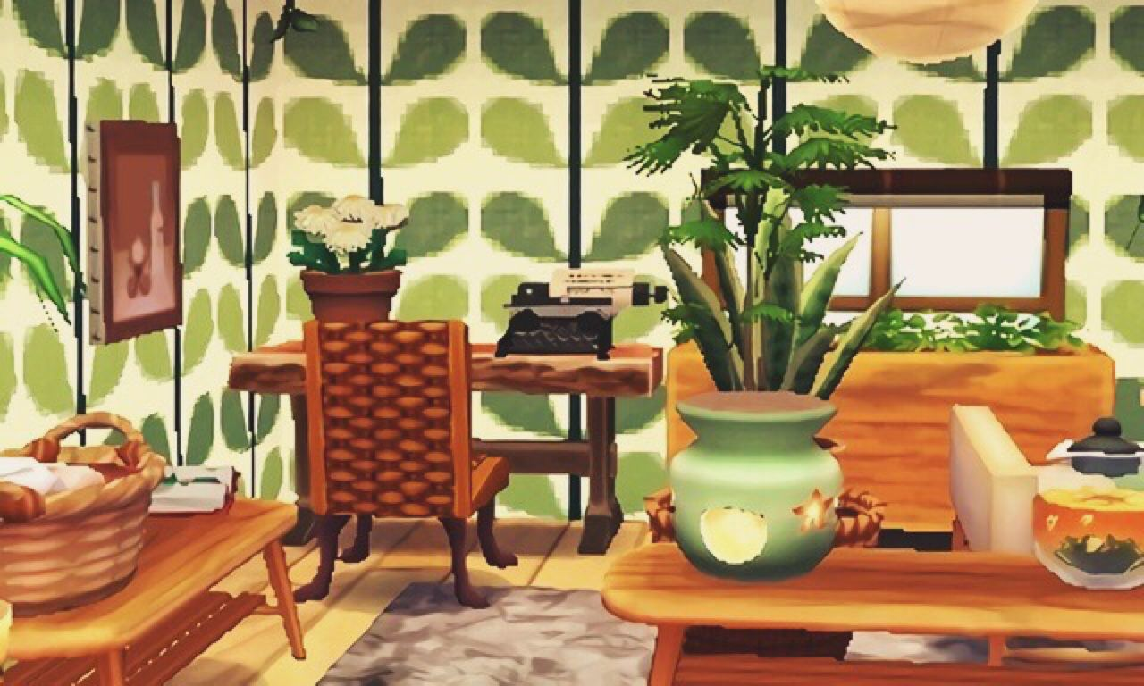 Lucky's zen living area | achhd house inspiration ... on Animal Crossing Living Room Ideas  id=85873