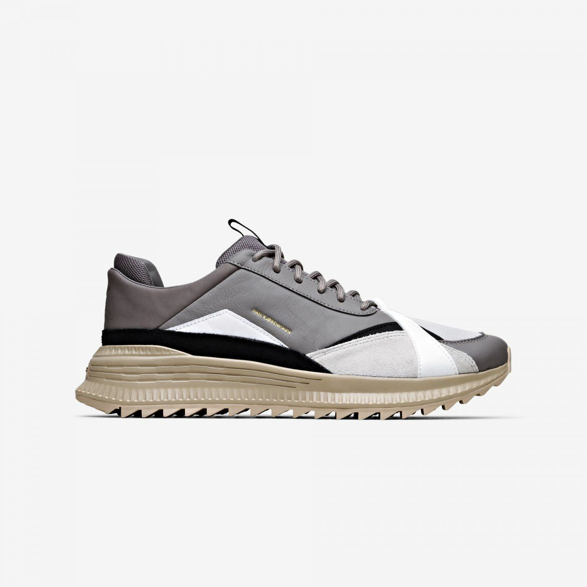 Grey leather man casual shoe 2019 SS Casual Sneakers 9c8a720a3