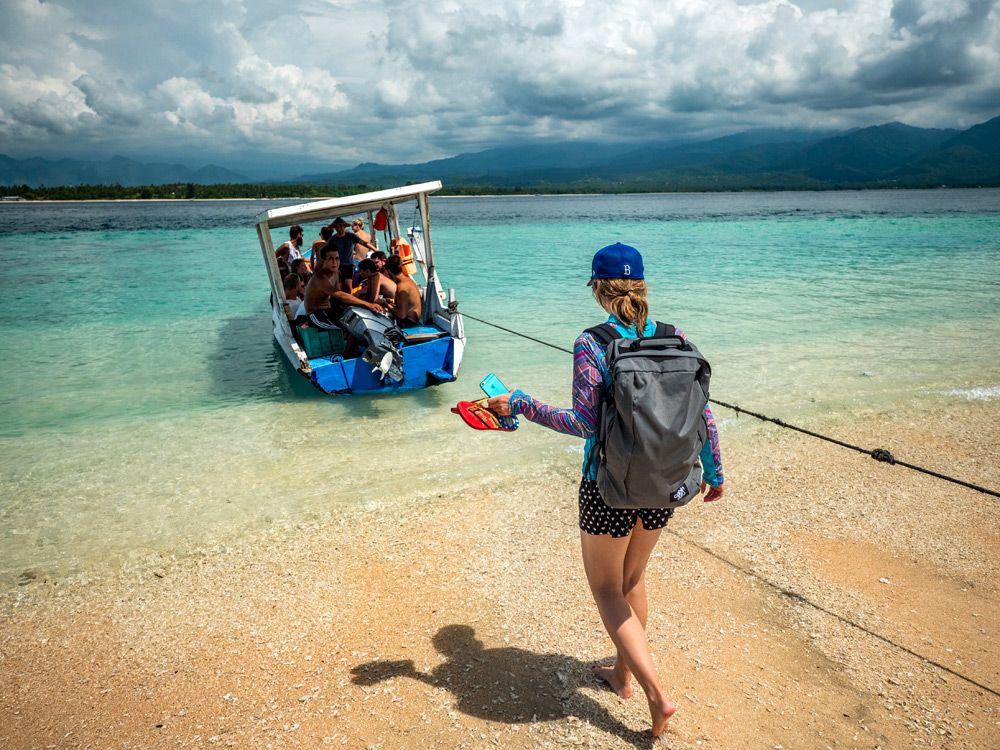 Cabin Zeroultra-light Cabin Bag: Schnorchelausflug auf Gili Air