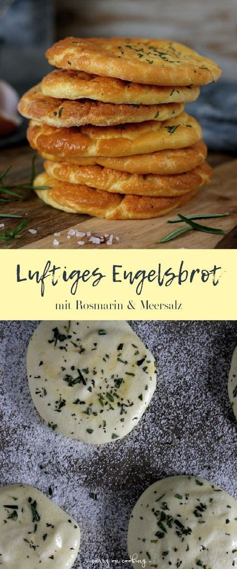 Photo of Engelsbrot mit Meersalz & Rosmarin | Rezept auf carry on cooking