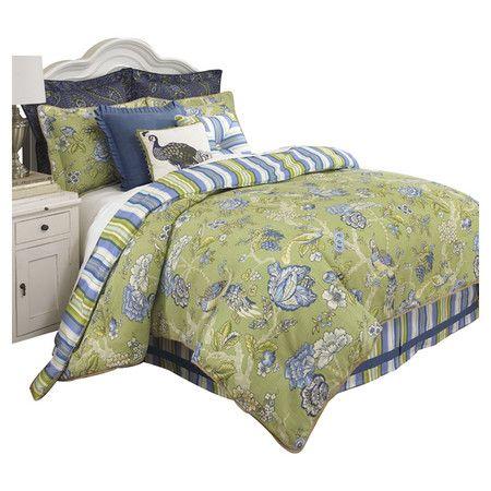Found it at Wayfair - Casablanca 4-Piece Comforter Set
