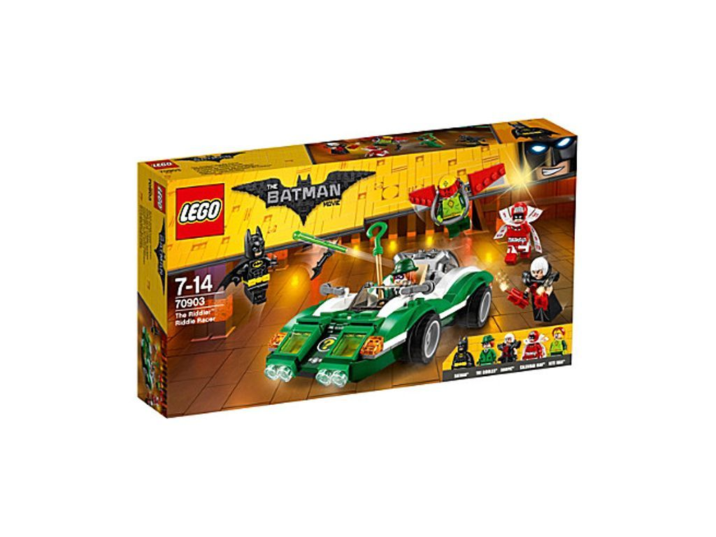 LEGO The Lego Batman Movie The Riddler Riddle Racer
