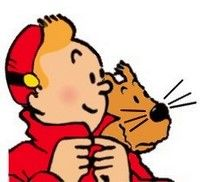 Tintin en Spirou, Milou en Skippy