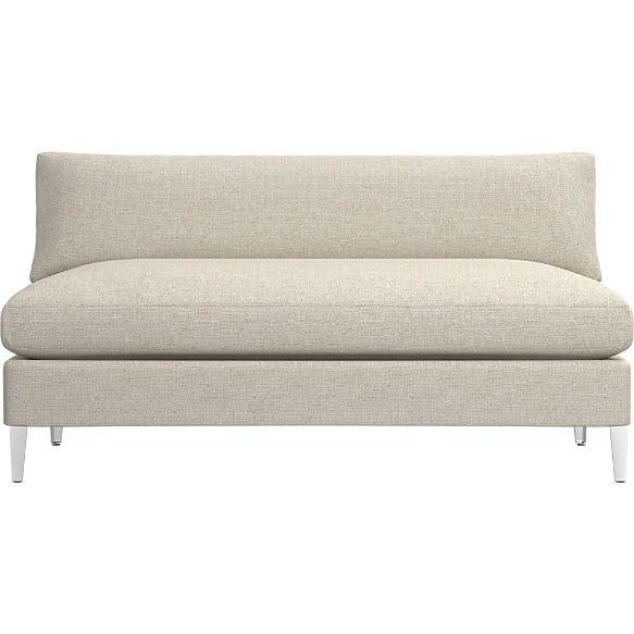 Cielo Ii Loveseat Shown In Hanson Almond 2 Piece Sectional Sofa